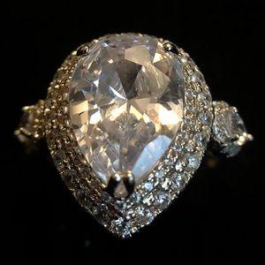 Bridal Engagement Rings Made w/ Swarovski Elements